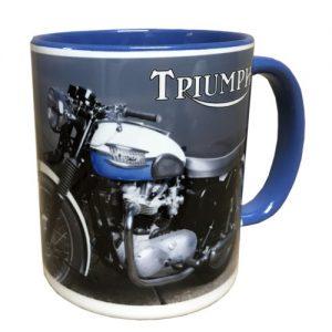 Kaffeetasse blau
